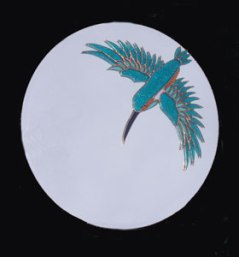 Kingfisher mirror SH285