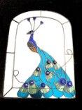 Peacock mirror SH394
