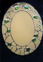 Patchwork mirror SH126