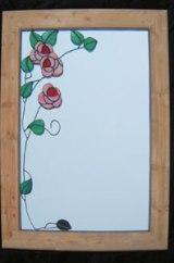 Rose mirror SH136